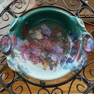 Tom Chamberlain Pottery Stoneware Bowl